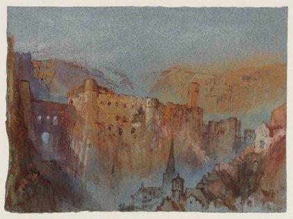 Opera di Turner raffigurante le casematte