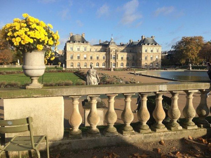 Veduta del Palazzo del Luxembourg
