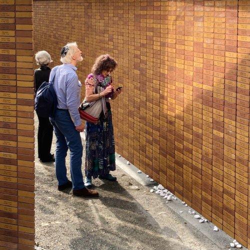 Visitatori del monumento