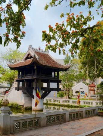 Hanoi one pillar pagoda