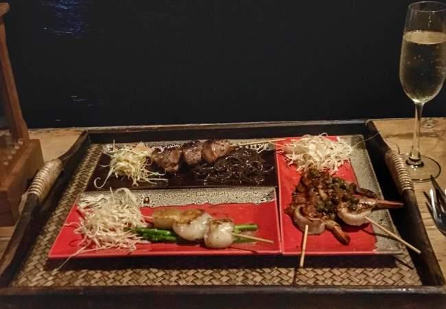 BBQ meat and fish restaurant at Santhiya Koh Yao Yai