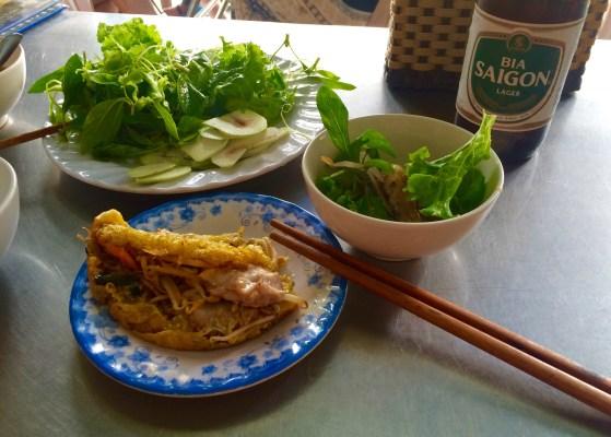 Vietnamese Food Banh Xeh