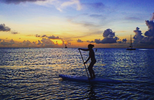 Barbados stand up paddleboarding