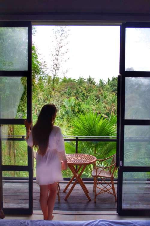 Wake up to a jungle view at Bisma Eight, Ubud, Bali, Indonesia