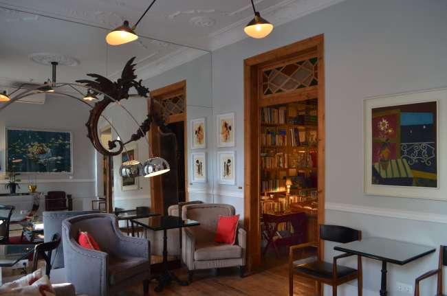 Sitting room at Casa do Barao, Lisbon, Portugal