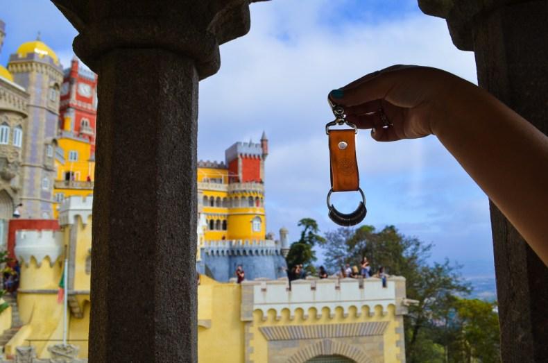 Travel presents - Traveller collective keyring