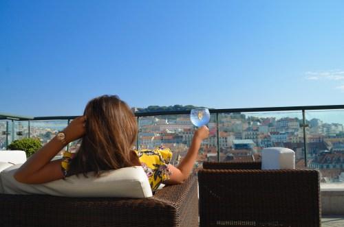 Where to drink - Entretanto bar at Hotel Chiado in Lisbon, Portugal