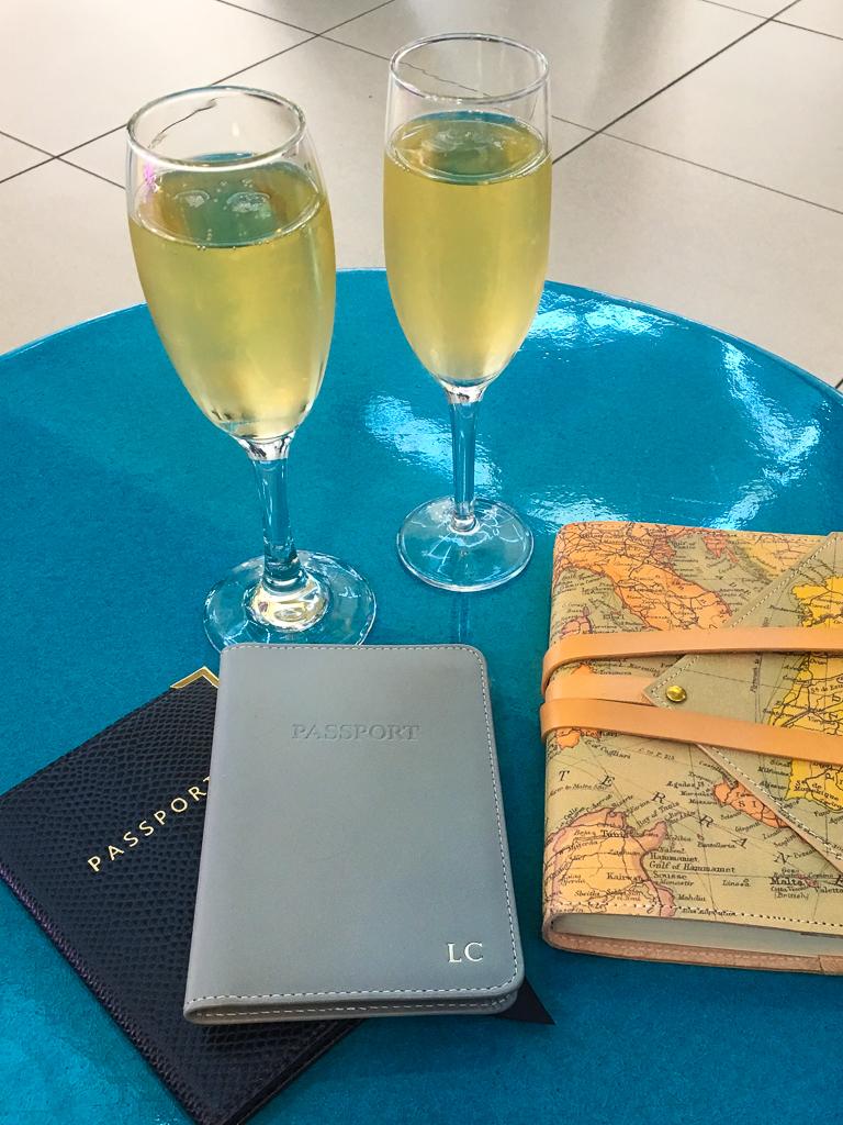 Travel presents - Ettinger luxury leather passport cover