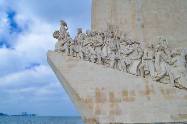 Monument of the discoveries in Belem, Lisbon, Portugal