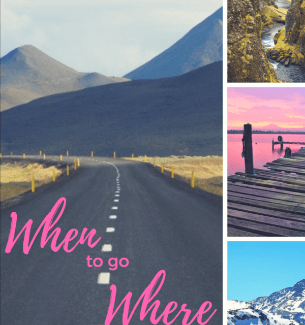 When to where - seasonal destination guide