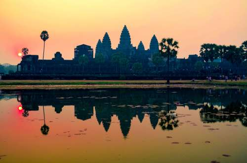 What to see and do - watch Angkor Wat sunrise in Siem Reap, Cambodia