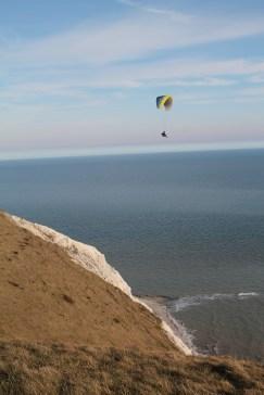 Paragliders Beachy Head