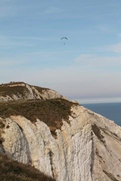 Beachy head paraglider cliff