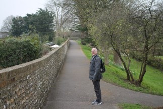 Bob along Chichester Walls