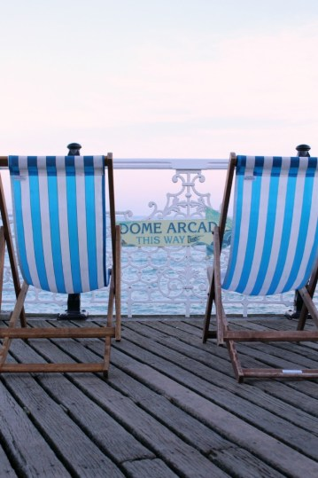 Deckside chairs Photo by clairebellamakes.com