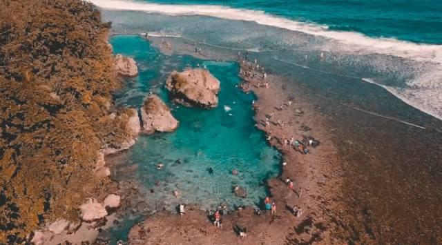Magpupungko Beach and Tidal Pool Siargao - Travel Guide