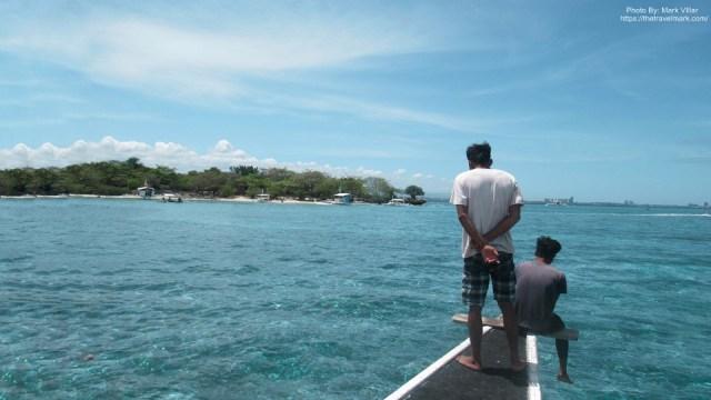View To Sulpa Island - Island Hopping Mactan Cebu