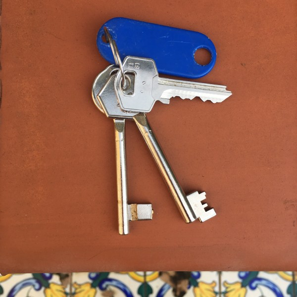 Keys to our hostel | Spain | The Travel Medley