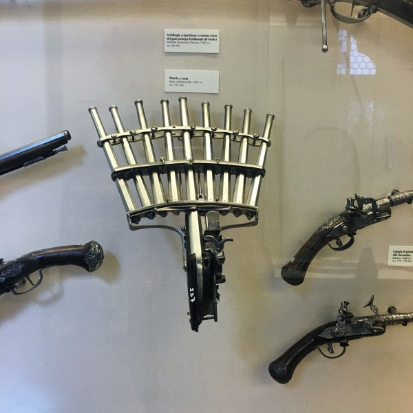 Bargello Museum gun | Florence | The Travel Medley
