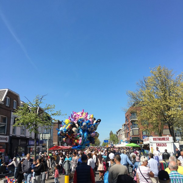 Bevrijdingsdag street festival in our neighborhood | Utrecht | The Travel Medley