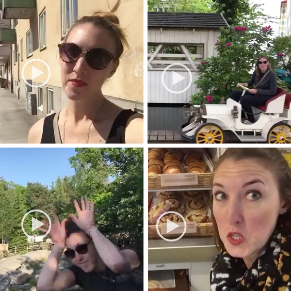 Dubsmash Roundup: Scandinavia | Sweden, Norway, Denmark | The Travel Medley