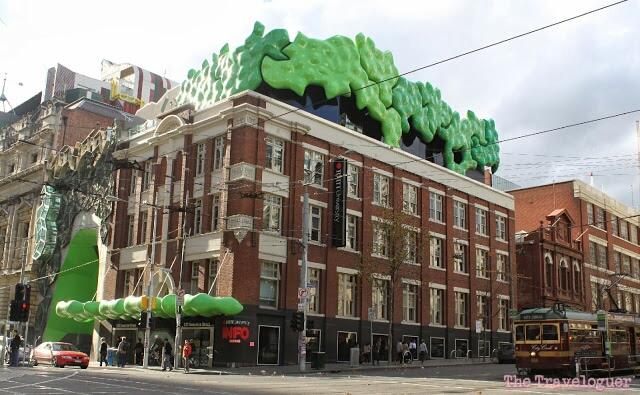 Newer building Melbourne