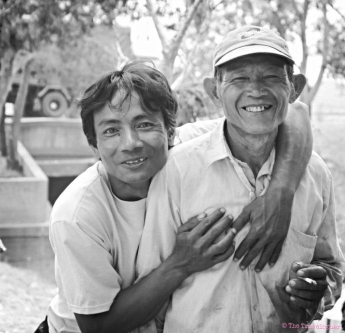 Cambodia portrait Monochrome photography Ireland black and white - the traveloguer travel blog