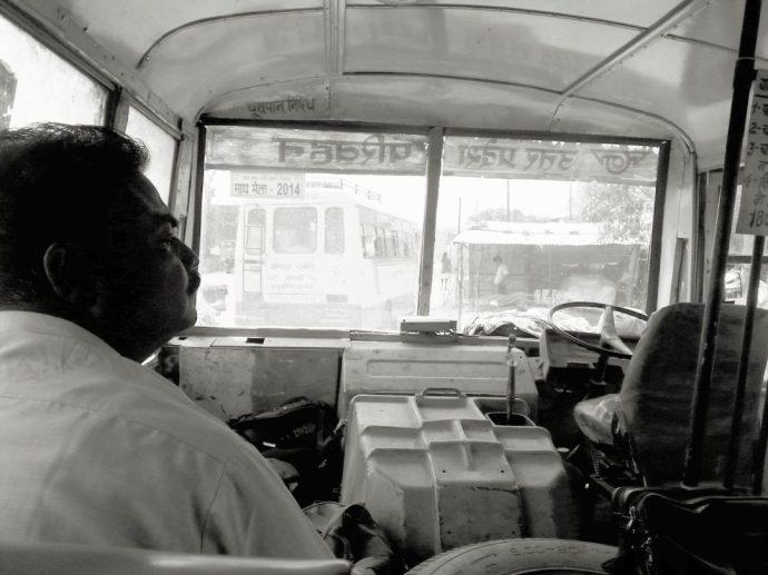 Local bus to Gorakhpur, Uttar Pradesh, India