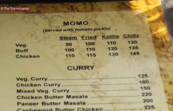 elite restaurant kathmandu menu buffalo momo