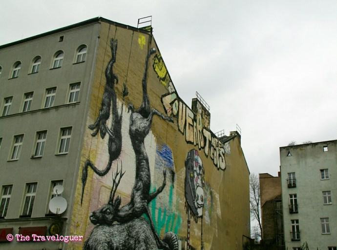 ROA- Berlin Street Art- Alternative Berlin Street Art tour and Graffiti Workshop thetraveloguer.com