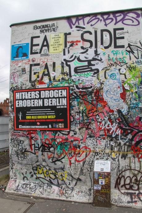 East Side Gallery Berlin on a budget