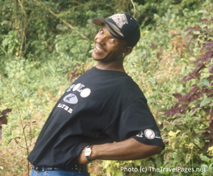 Charn Brown walking guide in the Blue Mountains of Jamaica
