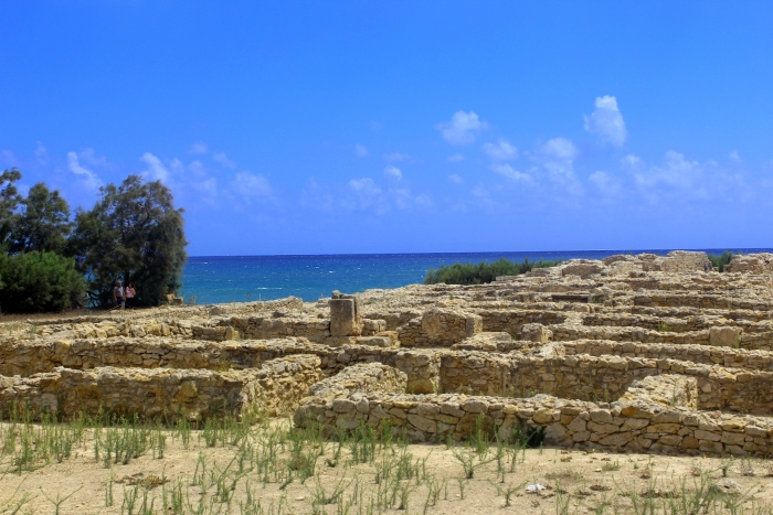 The Punic Ruins at Kerkouane in Tunisia