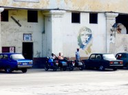 Che Guevara is venerated all over town as a key player in the Cuban Revolution,