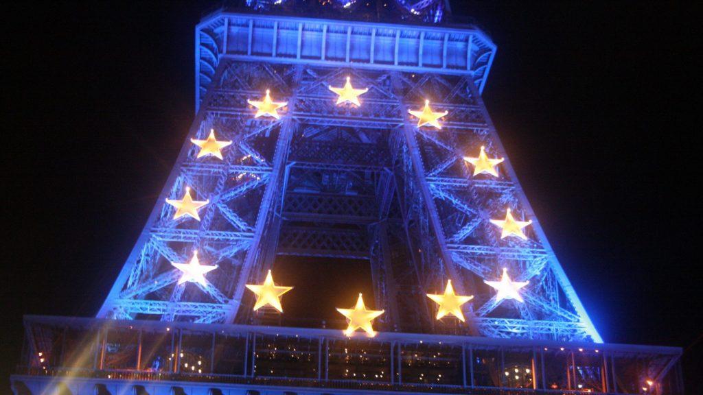 European Union Eiffel Tower