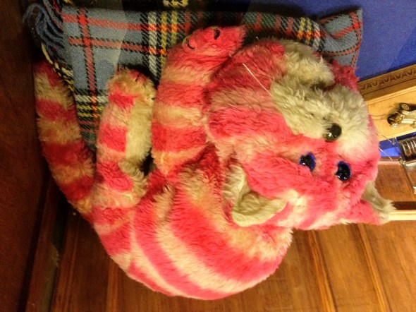 Bagpuss the magic all-seeing cat