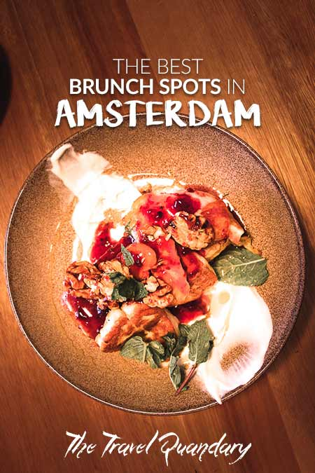 Pin Photo: Top spots for brunch in Amsterdam
