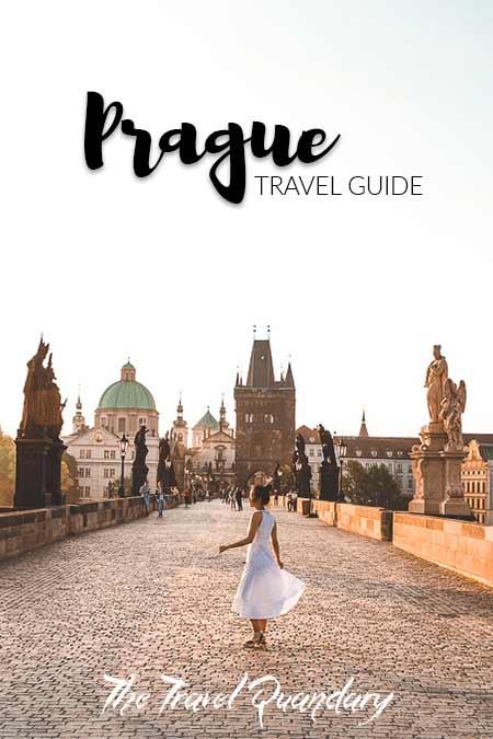Jasmine dancing on the Charles Bridge at sunrise, Prague City Guide
