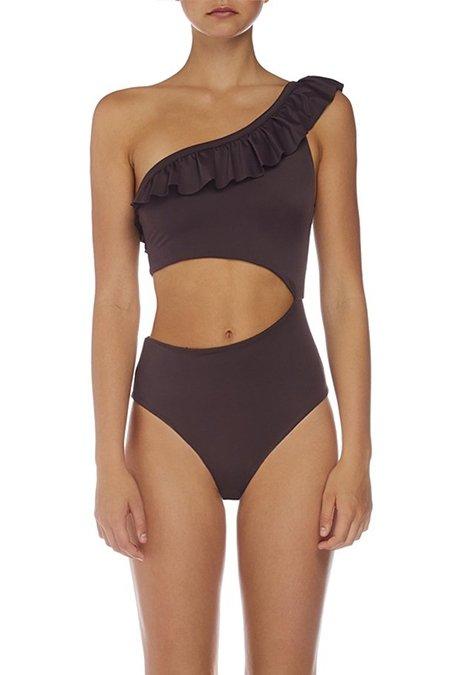 Skye Staghorn Tessa Frill One Piece Swimsuit