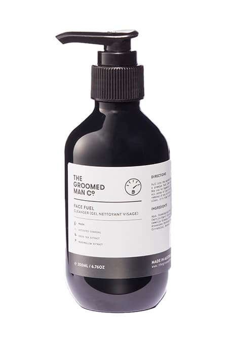 The Groomed Man Co Face Fuel Cleanser
