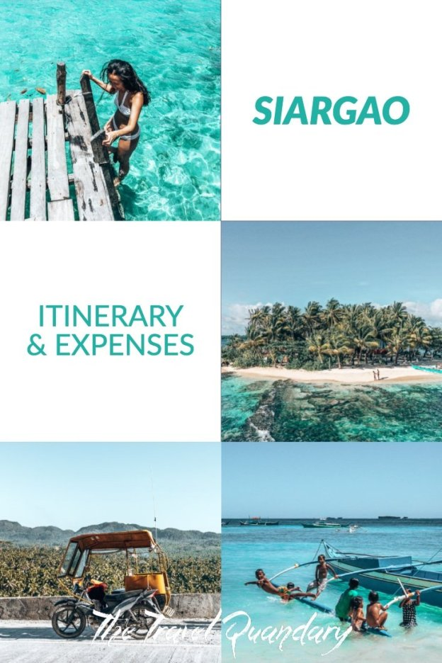 Pinterest | Siargao Itinerary And Expenses