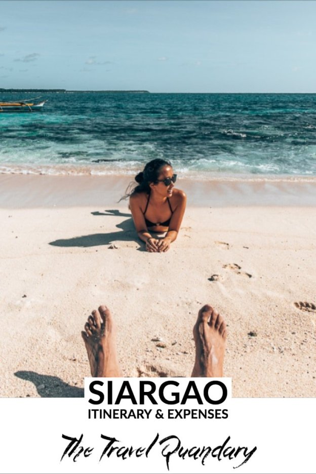 Siargao Itinerary & Expenses | Pinterest Board