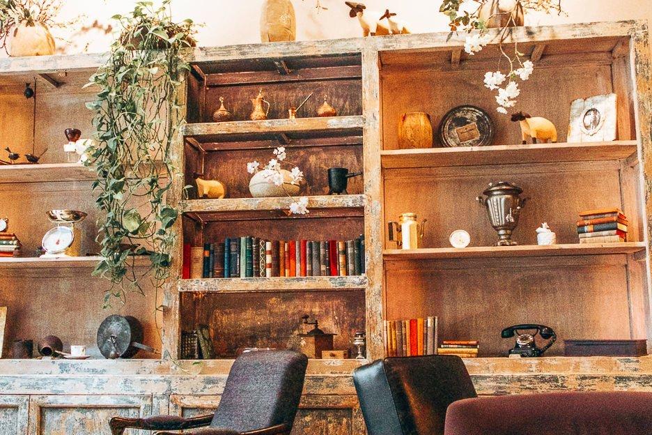 Interiors at La Boheme Cafe, Prague