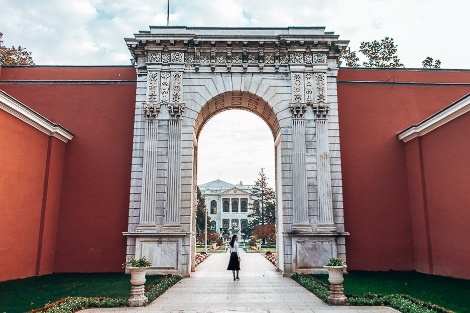 Wandering the grounds of Dolmabahce Palace - Istanbul City Guide, Turkey