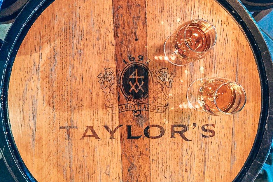 Port wine tastings at Taylor's - Porto, Portugal