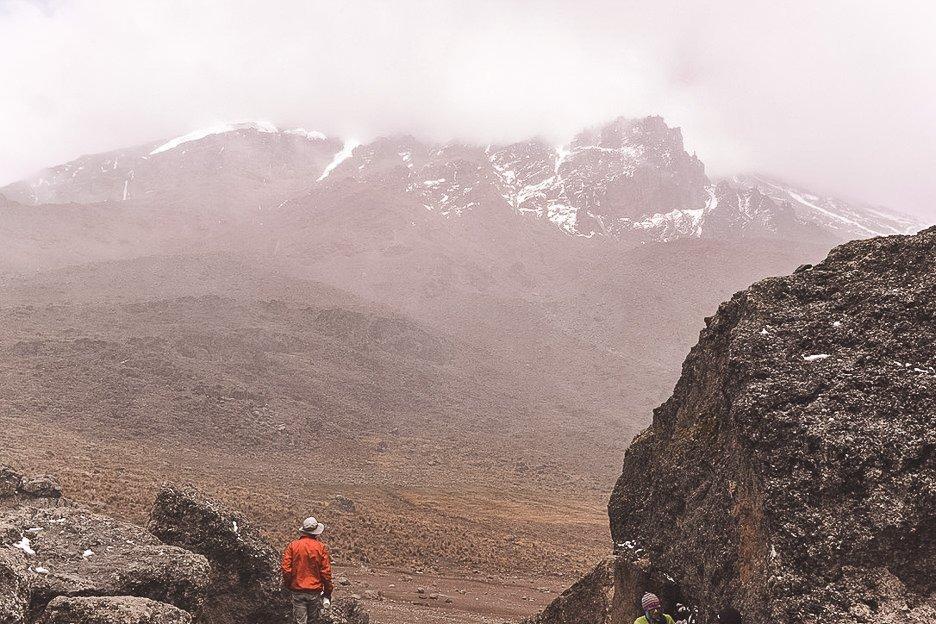 Elusive Mt Kilimanjaro peak along the Machame Route over 7 days