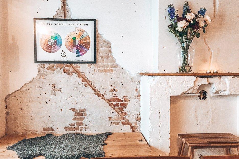 Best Coffee in Amsterdam   Crumbling interiors of Scandinavian Embassy