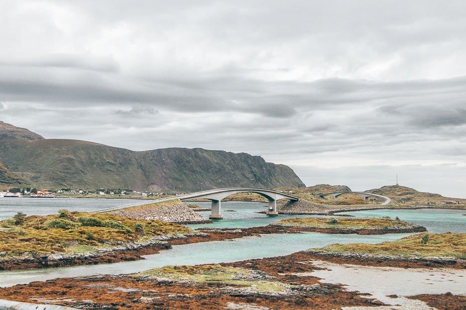 One of the bridges connecting the Lofoten Islands - Norway