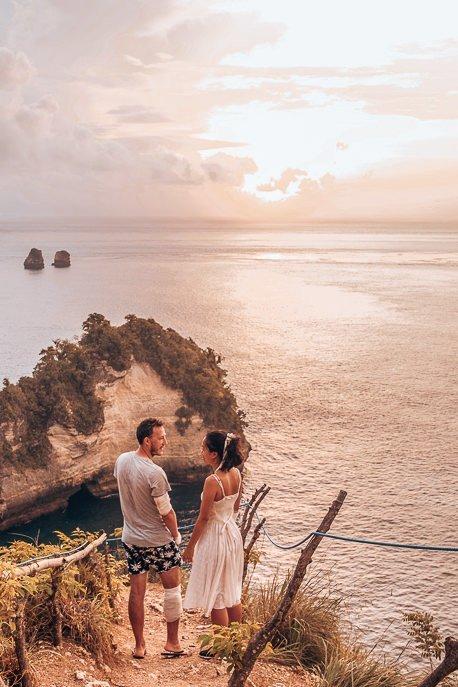Sunrise over Thousand Islands, Nusa Penida