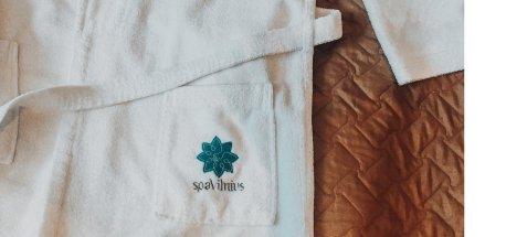 Spa Vilnius white robe, Druskininkai
